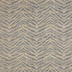 Colefax And Fowler Fabric:  'Kruger' in 'Blue', F4023-02 - Cowtan and Tout