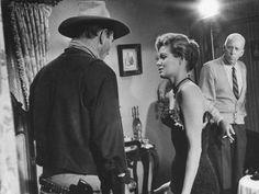 John Wayne, Angie Dickinson, Howard Hawks RIO BRAVO (1959)