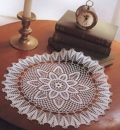 1000 Images About Doilies And Furniture Scarves On Pinterest Crochet Doilies Doily Patterns