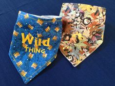 Where the Wild Things Are Bandana Bibs