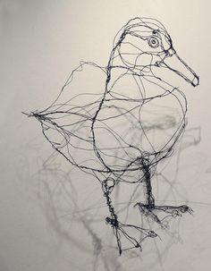 duck wire sculpture wire center u2022 rh 45 76 62 56