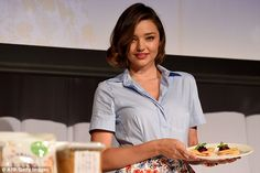She does it all! The Australian stunner cooked up a storm at the presentation