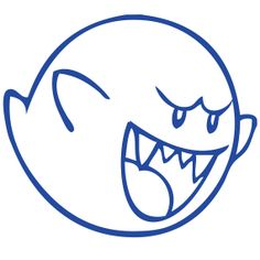 Mario Pictures to Color Boo Mario Bros, Super Mario Bros, Super Mario Party, Super Mario Brothers, Super Mario Tattoo, Colouring Pages, Coloring Books, Sac Halloween, Super Mario Coloring Pages