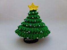 Tutorial Árbol de Navidad de Crochet - Misslanitas - YouTube                                                                                                                                                                                 Más