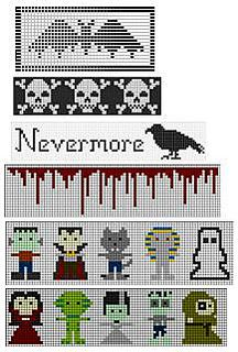 Ghoulishly Gruesome Graphs by Liz Lindo  ☀CQ #crochet #crafts #DIY.  Thank you for sharing! ¯_(ツ)_/¯