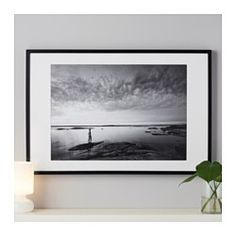 Can be hung horizontally or vertically to fit in the space available. The mat is acid-free and will not discolor the picture. Can also be used without the mat for a larger picture.