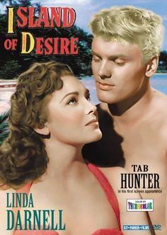 Island of Desire, Linda Darnell, Tab Hunter John Laurie, Tab Hunter, Running Jokes, Anthony Perkins, Billboard Hot 100, Young Love, Pop Singers, American Actors, Movie Stars