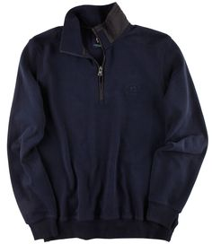 Maritimes #Sweatshirt in marineblau