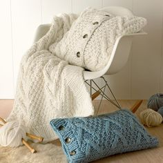 Knitted Cushions