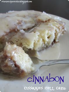 The Recipe Critic: 5 stars Cinnabon Cinnamon Cake
