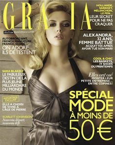 Grazia. Scarlett Johansson. April 2012.