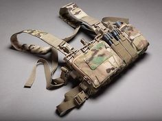 Haley Strategic HSP Disruptive Environments Chest Rig D3CR Heavy - Coyote