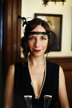 1920's Flapper Bachelorette Party--- I could totally see Beka liking this idea!!