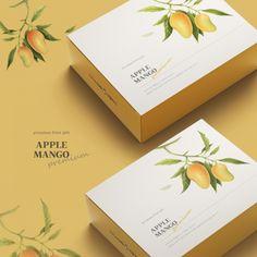 Apple Packaging, Box Packaging, Bakery Packaging, Food Packaging Design, Packaging Design Inspiration, Branding Design, Vegetable Packaging, Tea Logo, Catalog Design