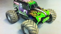 Hopped Up Traxxas 1/16 Grave Digger