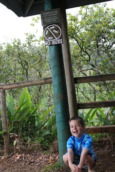 Surviving Road to Hana with kids