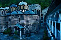 O Mosteiro de São João de Rila, Bulgária.