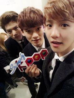 Luhan, Chen & Baekhyun