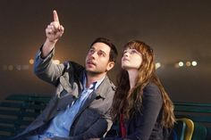 Still of Alexis Bledel and Zachary Levi in Remember Sunday