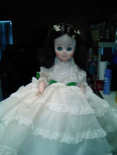 My beautiful Madame Alexander,Scarlett O'Hara doll