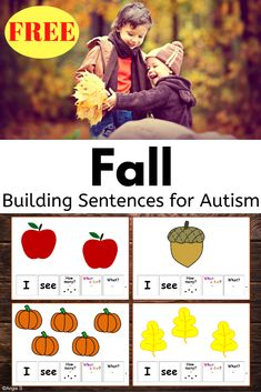 Great product for me at this point in the year. Different levels of support are given depending on the needs of the student. There are color word cards that are that color or just in black print. Number cards are with or without dots. The objects also have pictures or just words. #fall #sped