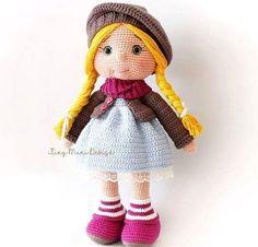 Подробная схема вязания амигуруми куклы TonTon крючком — DIYDIY.ru вязание: описание, схемы, видео, мастер классы