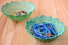 Doily Baskets Are An Easy DIY You'll Love To Try