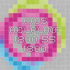 Kids Helpline - 1800 55 1800