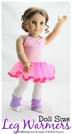 Doll Craft-Doll Size Leg Warmers