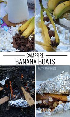 ... Pinterest   Barcos De Banana De Fogata, Bananas De Fogata y Plátanos