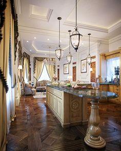 "Luxury Classic Kitchen ""Qatar"""