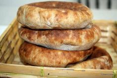 Wood Oven Pizza, Yemeni Food, Whole Wheat Pita Bread, Bread Recipes, Cooking Recipes, A Food, Good Food, Bread Baking, Healthy Cooking