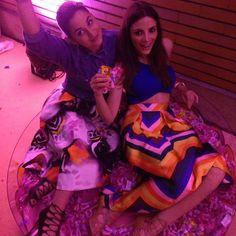 Read here about Julia's Look. http://julialovesart.com/floral-skirt-look-summer/ #giuliaparigi #julialovesart | SHOP ONLINE ON: www.alteregodresstore.com | MAIN SITE: www.alteregodress.com . . .  #fashionblogger #alteregodress #fashion #outfits You always need a rainbow!  @luisaviaroma #luisaviaroma #florence #firenze4ever #rainbow #love #firenze
