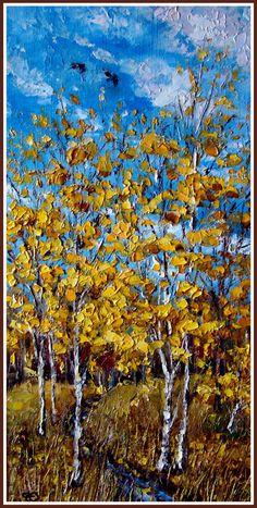 """Saatchi Art Artist Olga Rtishcheva; Painting, """"Autumn."""" #art"""