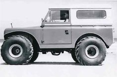 Shell Oil Land Rover - In 1963 this Land Rover was built for the Shell Oil Company for operations and explorations in Alaska.