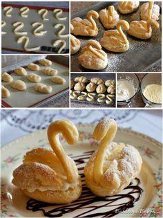 Swan Cream Puffs