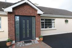 The Palladio Composite Door is the best door on the market today. The strength, durability and beauty of the door are unmatched. Visit Costello Windows to see more. Front Doors, Garage Doors, Doors Online, Composite Door, Sash Windows, Townhouse, Porch, Composition, Strength