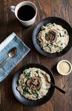 Savory Steel Cut Oats #vegan #glutenfree