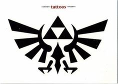 Legend of Zelda Twilight Princess Tattoo Set #1 Symbol of Hyrule $2.99 ToyWiz