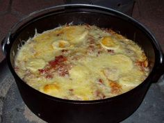 Rezept - Dutch-Oven-Lasagne