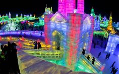 China's Harbin Ice and Snow Festival
