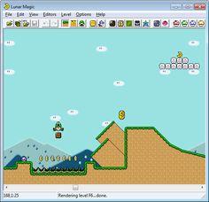 Lunar Magic: Super Mario World Editor.