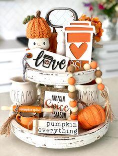 Fall Friends, I Fall, Fall Diy, Happy Fall, Black Truck, Thanksgiving Decorations, Seasonal Decor, Halloween Decorations, Thanksgiving Projects