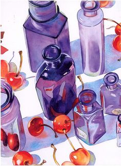 Be Daring With Watercolor. Anne Abgott