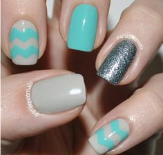 #Teal #Grey #Sparkle #Glitter