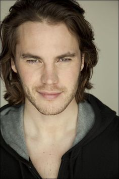 Taylor Kitsch - I was watching John Carter trying to figure out why Timothy Olyphant looked so young and why his top lip looked so full (ha ha).
