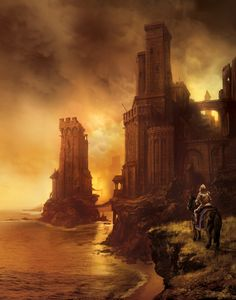 Tyrion in King's Landing by Marc Simonetti for A Clash of Kings - Amazing paintings for use on the French and Brazilian editions of George R.R. Martin's A Song of Ice and Fire series.