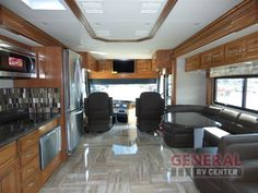Spacious, Classy And Comfortable. Camping or Glamping, The New 2017 Fleetwood RV Discovery 40G Motor Home Class A - Diesel at General RV Will Guide You To The Your Destination | Wayland, MI | #138871