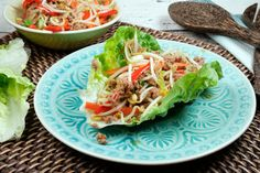 China-Fingerfood im Salatblatt - Gaumenfreundin - Foodblog aus Köln mit leckeren Rezepten von der schnellen Küche bis Low Carb
