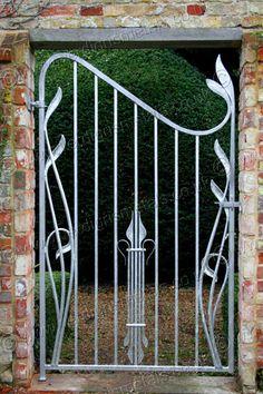 bespoke Art Nouveau garden gate
